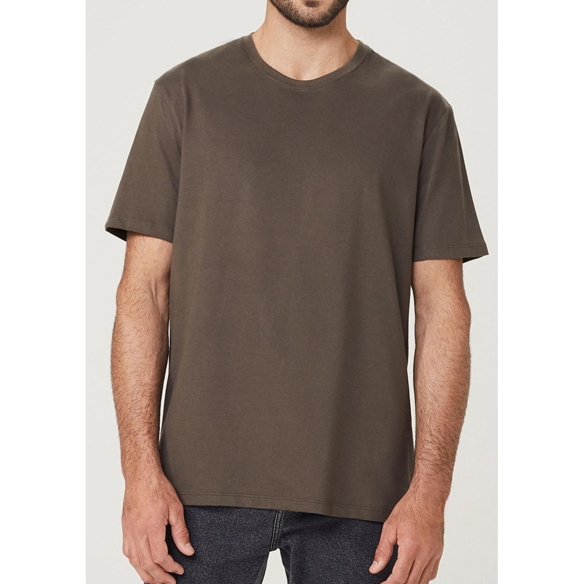 Camiseta Masculina Hering 0227 Naten Verde