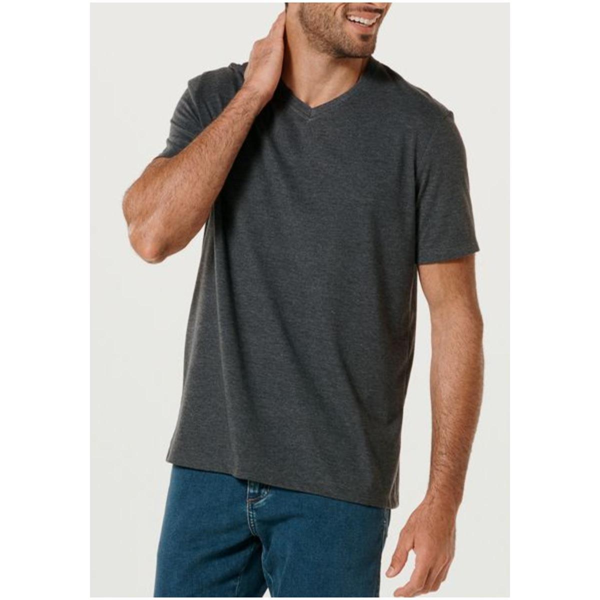 Camiseta Masculina Hering 022b Md307s Chumbo