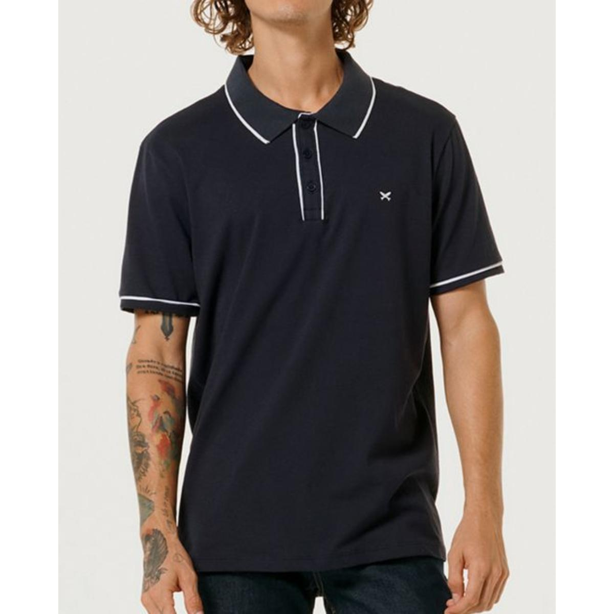 Camiseta Masculina Hering 3m4u Ax7en Marinho