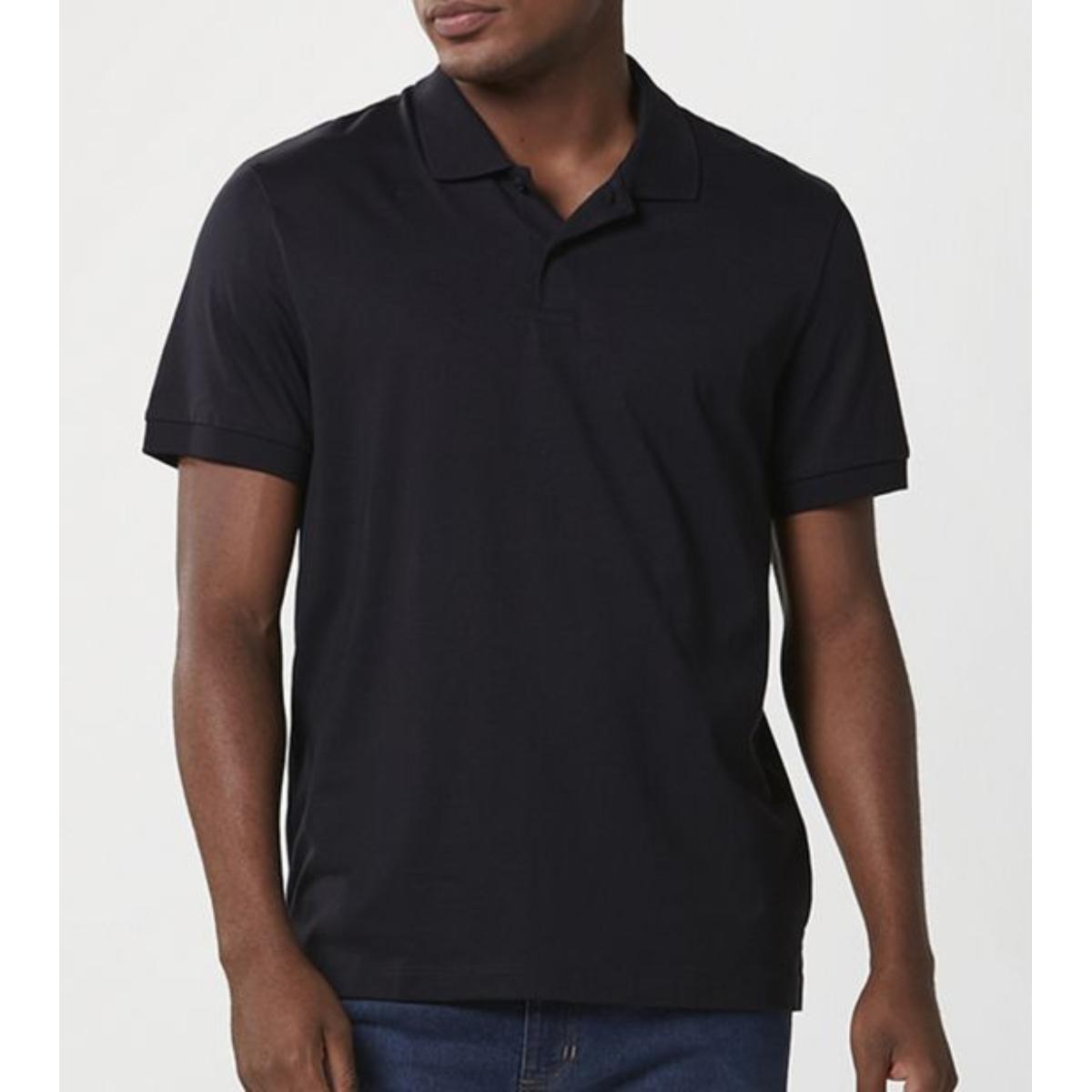 Camiseta Masculina Hering Kg2a N10si Preto