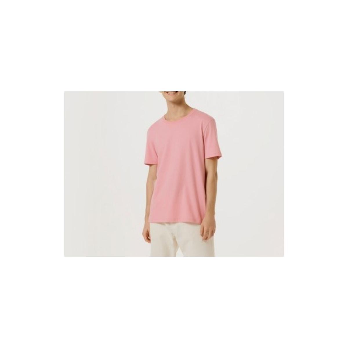 Camiseta Masculina Hering 0201 Kapen Rosa