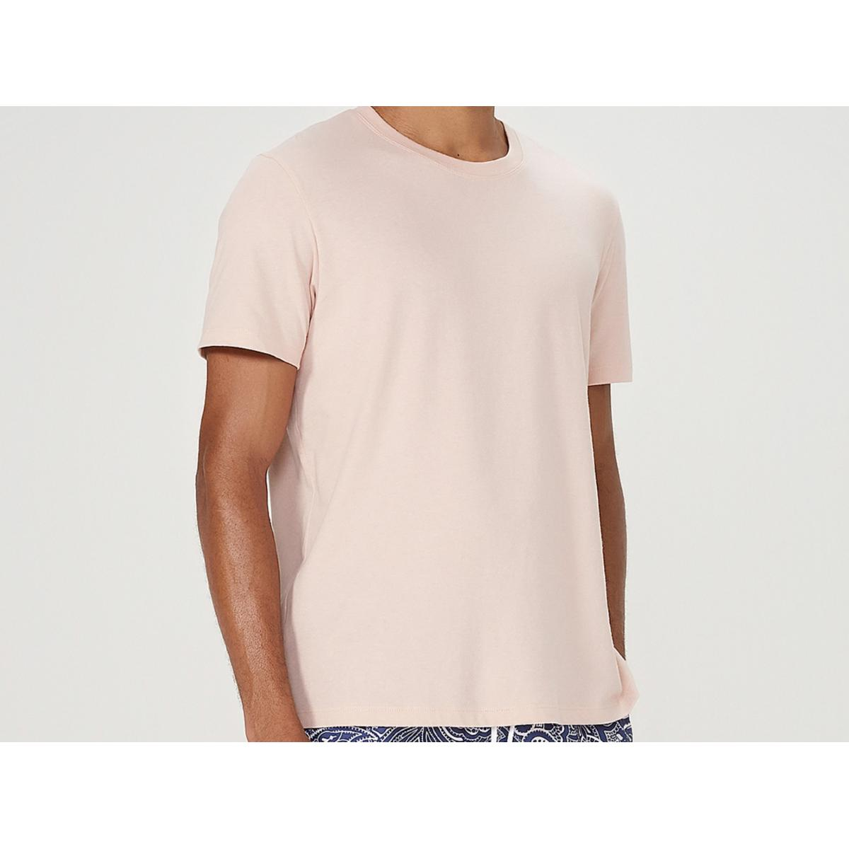 Camiseta Masculina Hering 0201 Kmmen Rosa Claro