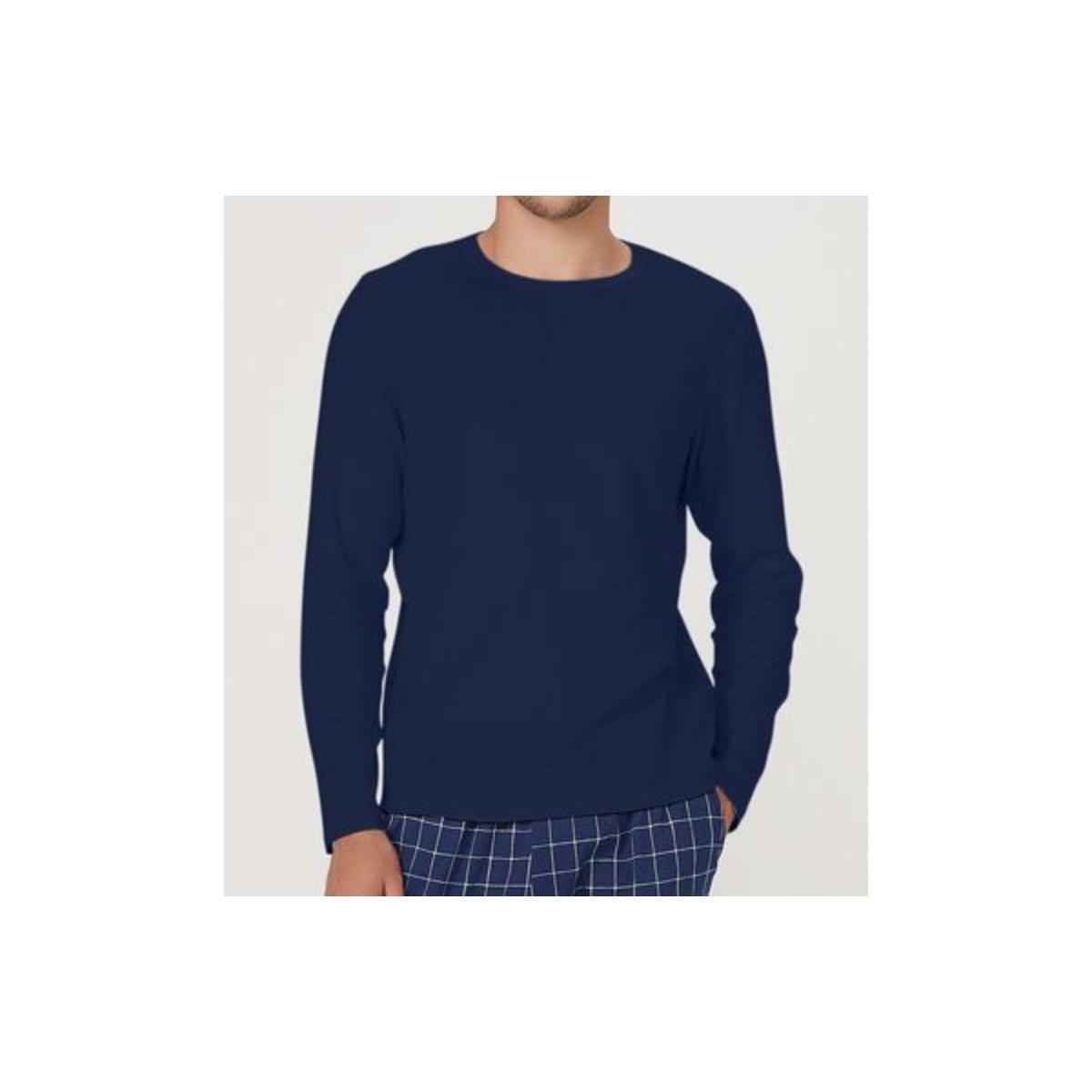 Camiseta Masculina Hering 7cep Axten Marinho