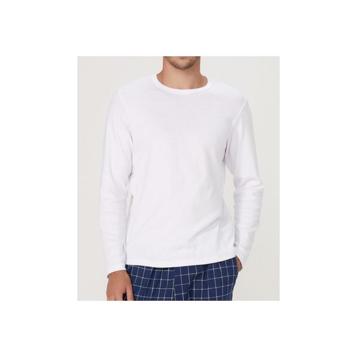 Camiseta Masculina Hering 7cep N0aen Branco