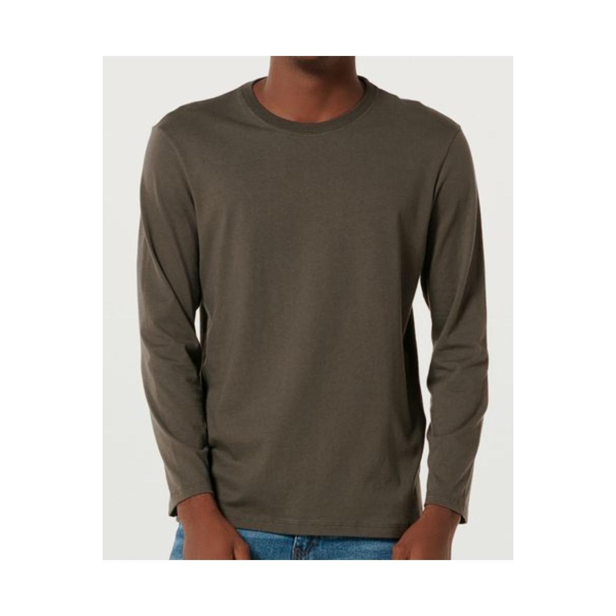 Camiseta Masculina Hering 026x Naten Verde Musgo