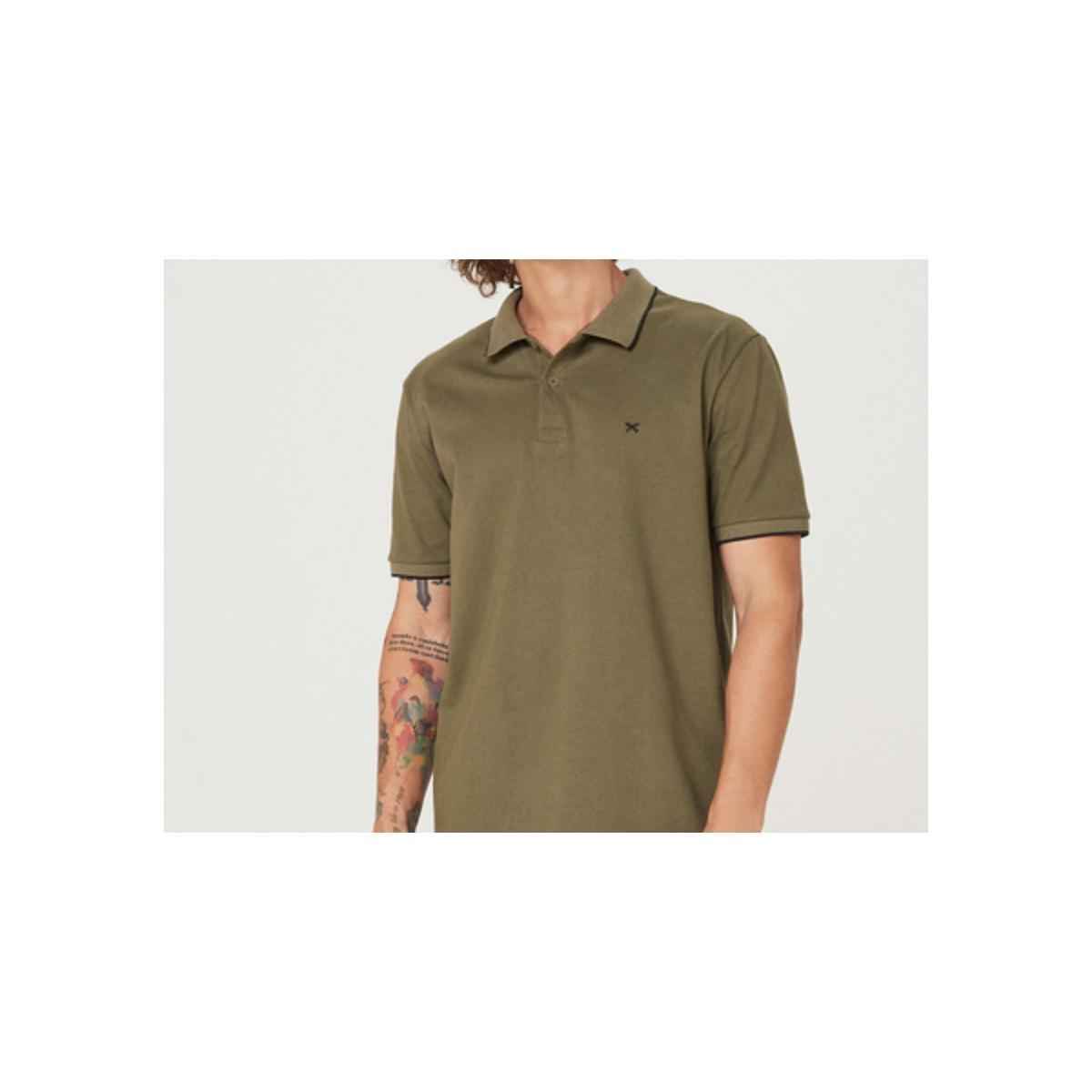 Camiseta Masculina Hering 3m4m Eacen  Verde