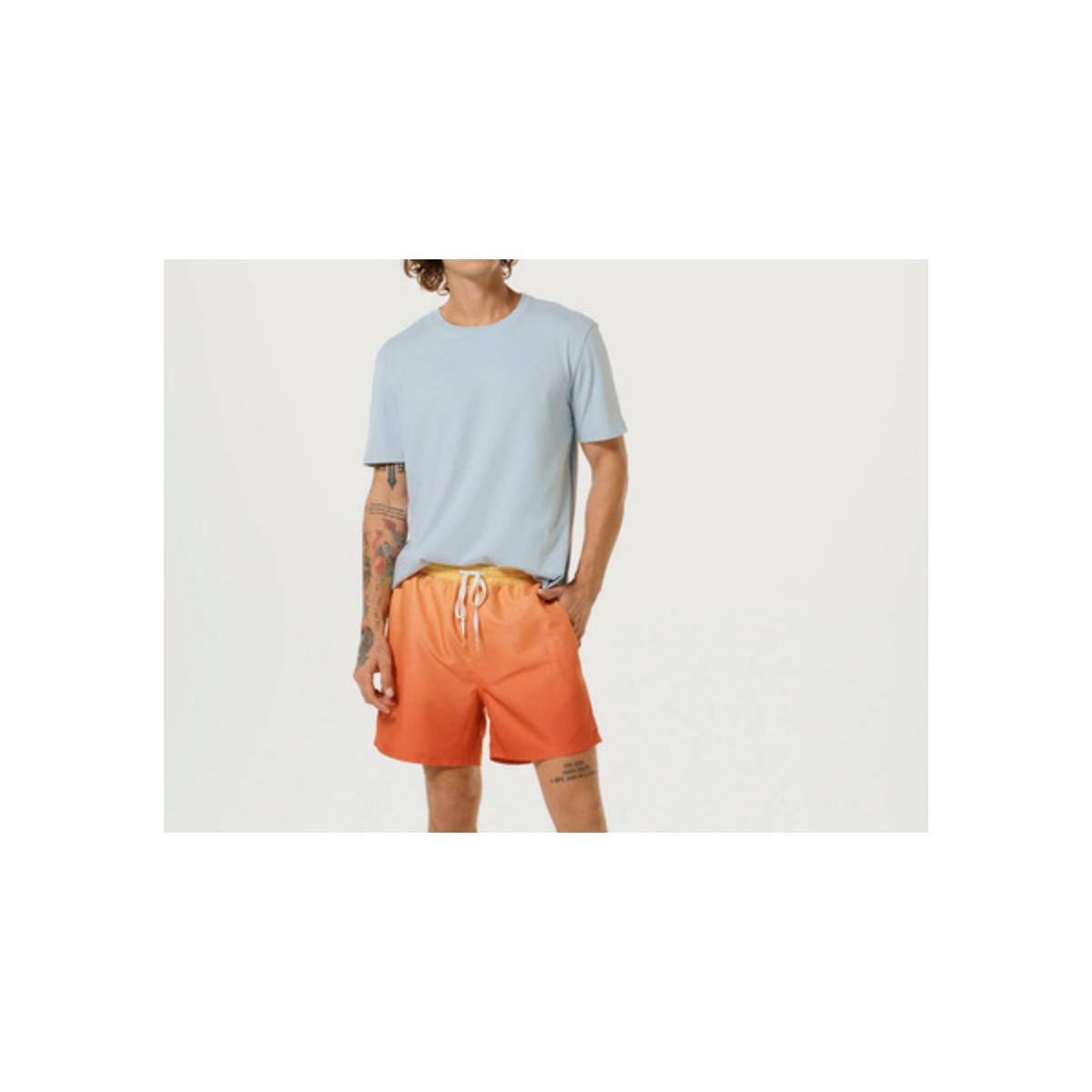 Camiseta Masculina Hering 0201 Av7en  Azul Claro