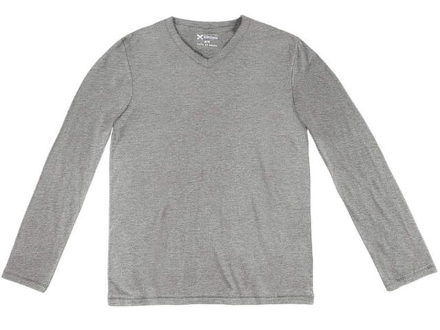 Camiseta Masculina Hering 022d M2h07s Cinza