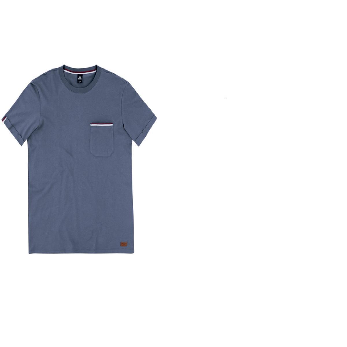 Camiseta Masculina Hering 4egx Av2en Azul