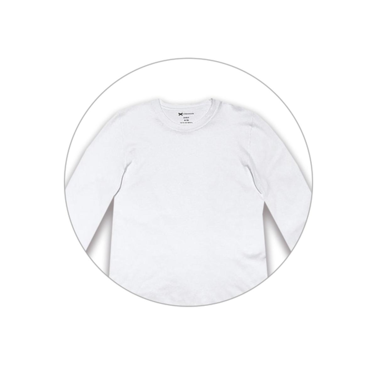Camiseta Masculina Hering 026x Noa00s Branco