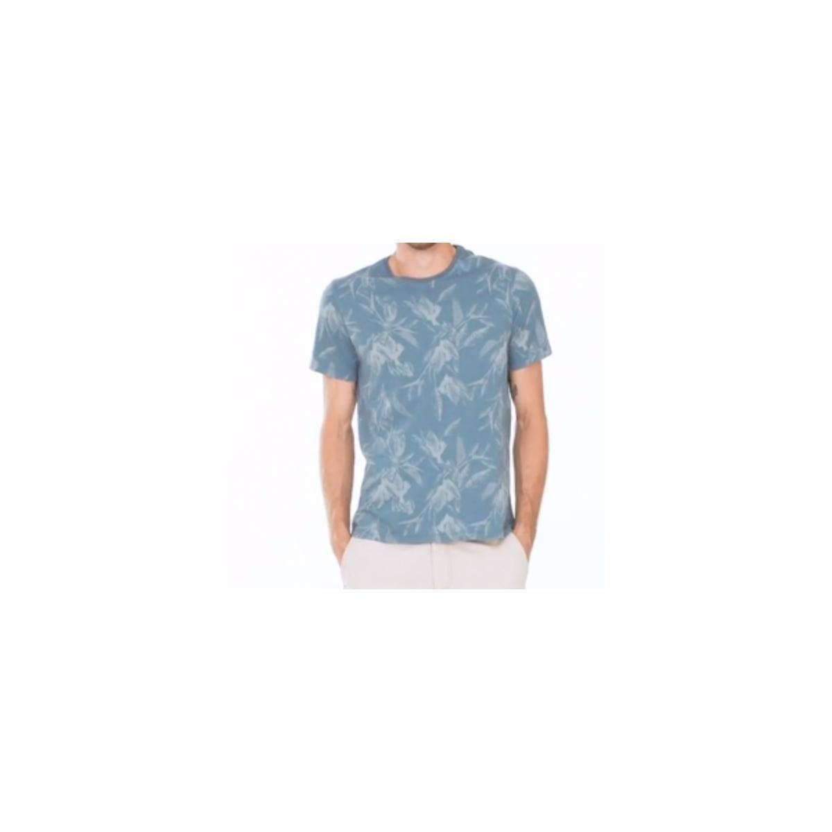 Camiseta Masculina Hering 4efk 3hen Azul