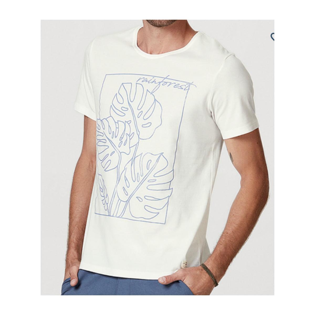 Camiseta Masculina Hering 4efz Nmcen Branco