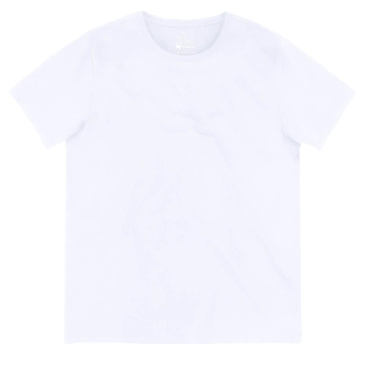 Camiseta Masculina Hering Kg99 N0asi Branco