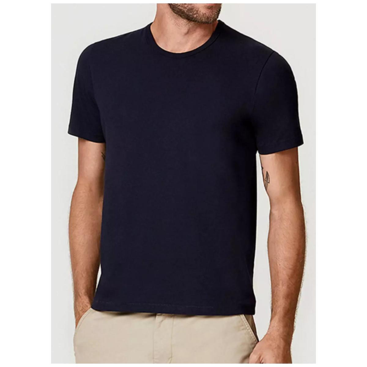 Camiseta Masculina Hering 0299 Az7en Azul