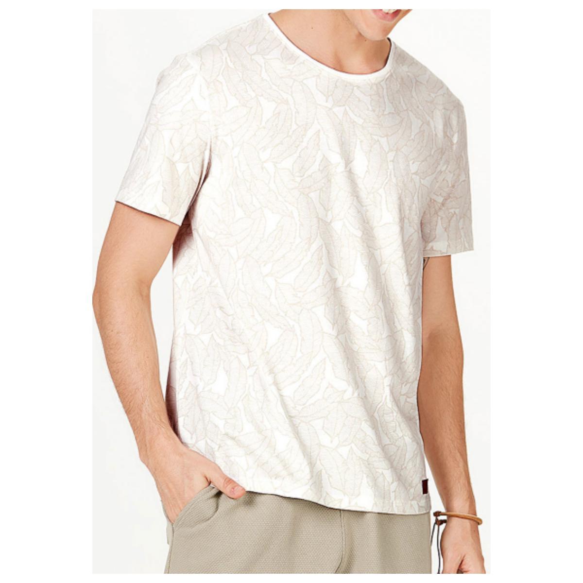 Camiseta Masculina Hering 4efk 3gen Nude