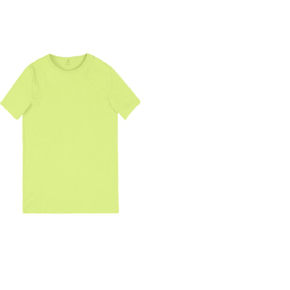 Camiseta Masculina Hering 0299 Yuden Amarelo Limão