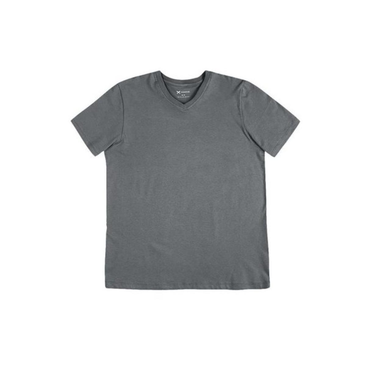 Camiseta Masculina Hering 022b Nhr07s Chumbo
