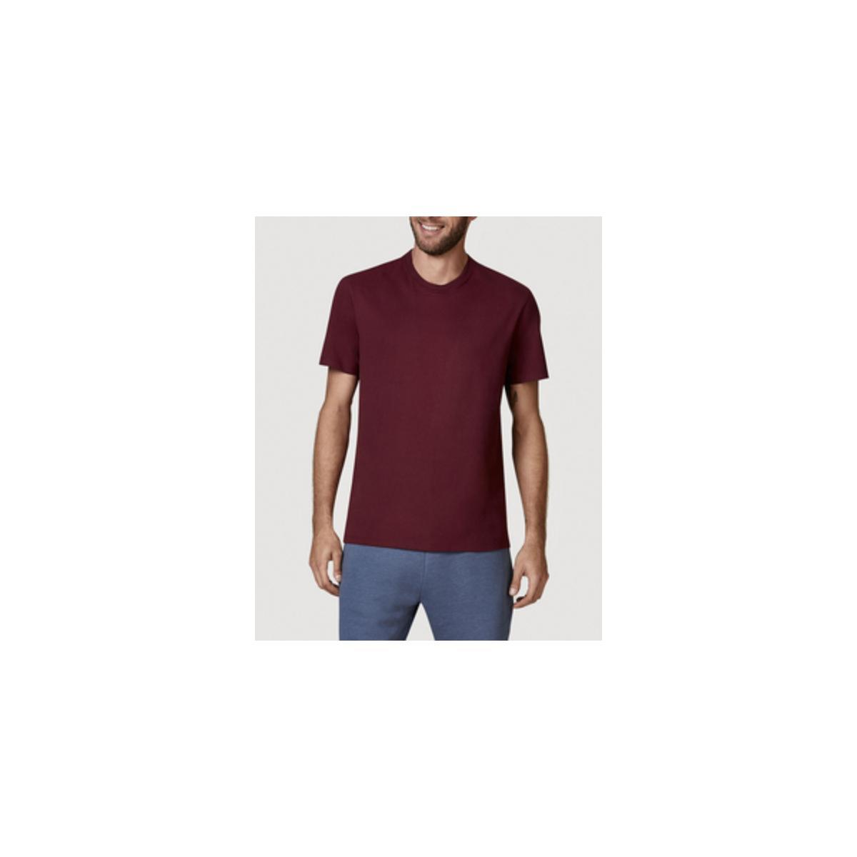 Camiseta Masculina Hering 0227 Rwren Bordo
