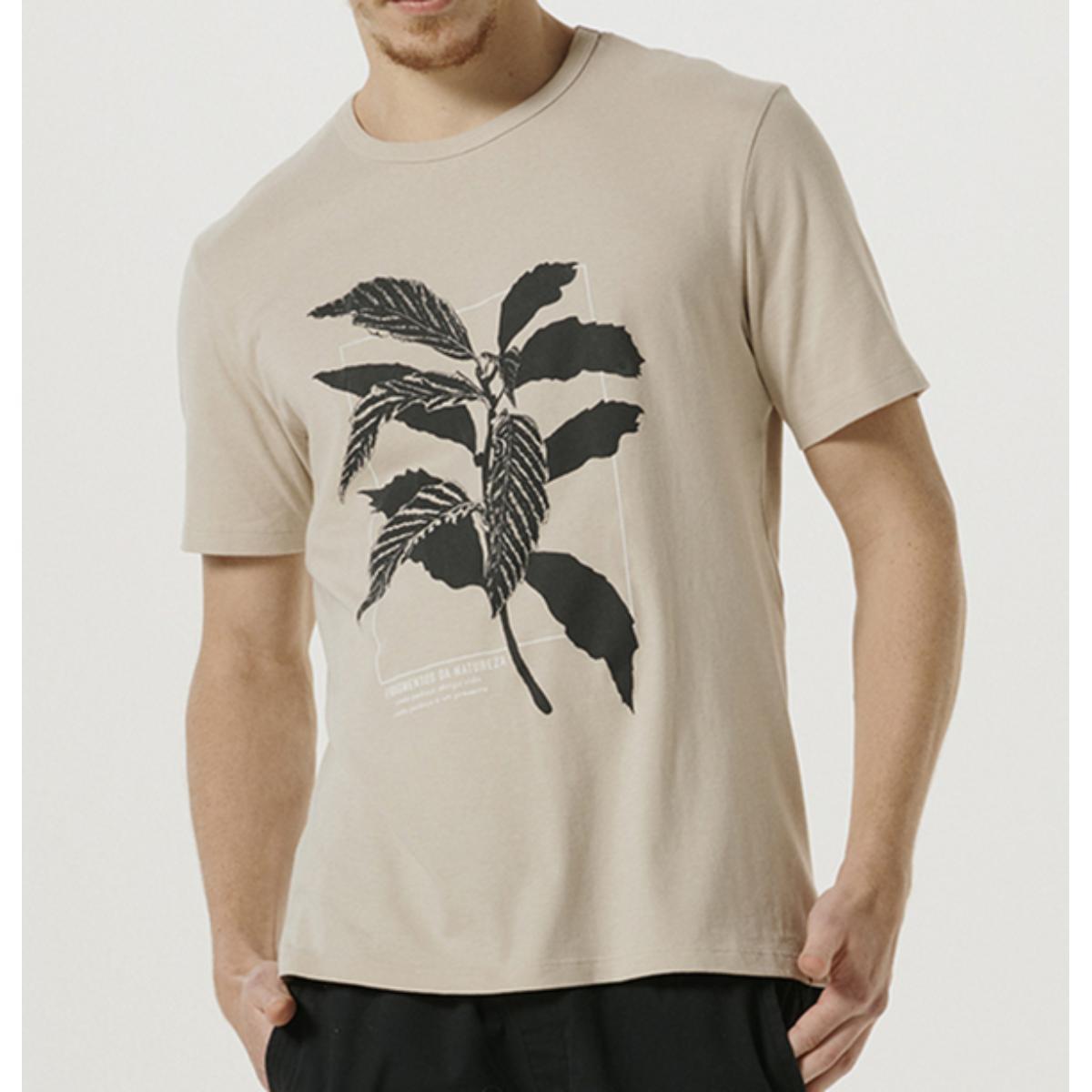 Camiseta Masculina Hering 4fa3 Hjmen Bege