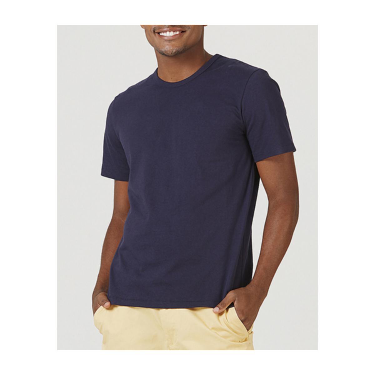 Camiseta Masculina Hering 0299 Ax7en Marinho