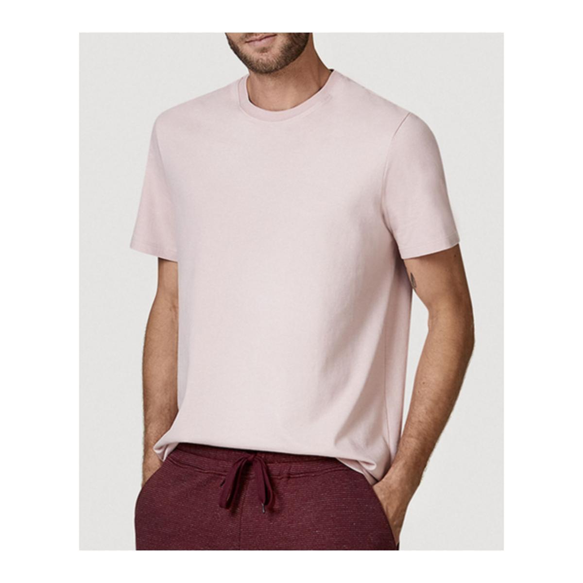 Camiseta Masculina Hering 0227 Krqen Rosa Claro
