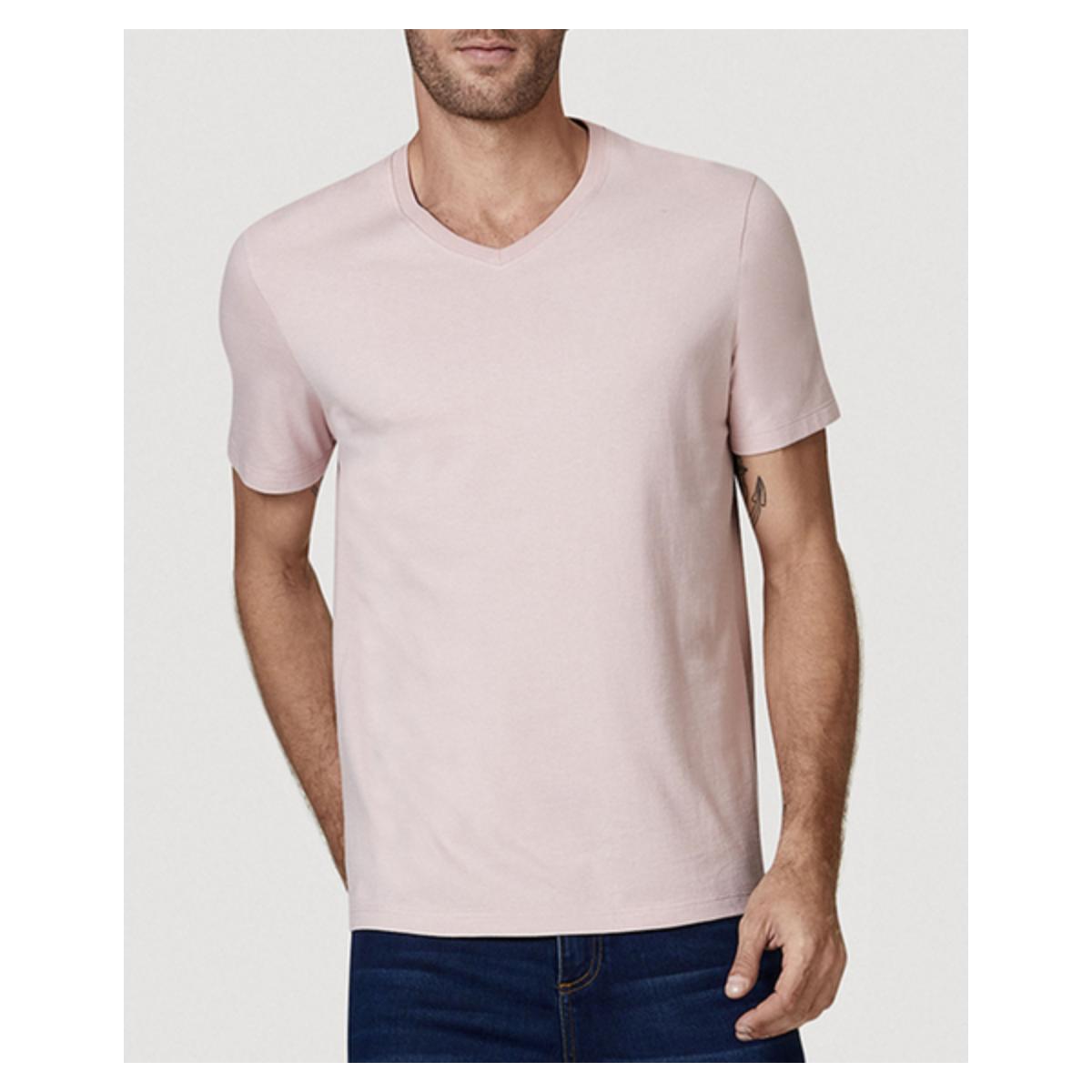 Camiseta Masculina Hering 022b Krqen Rosa Claro