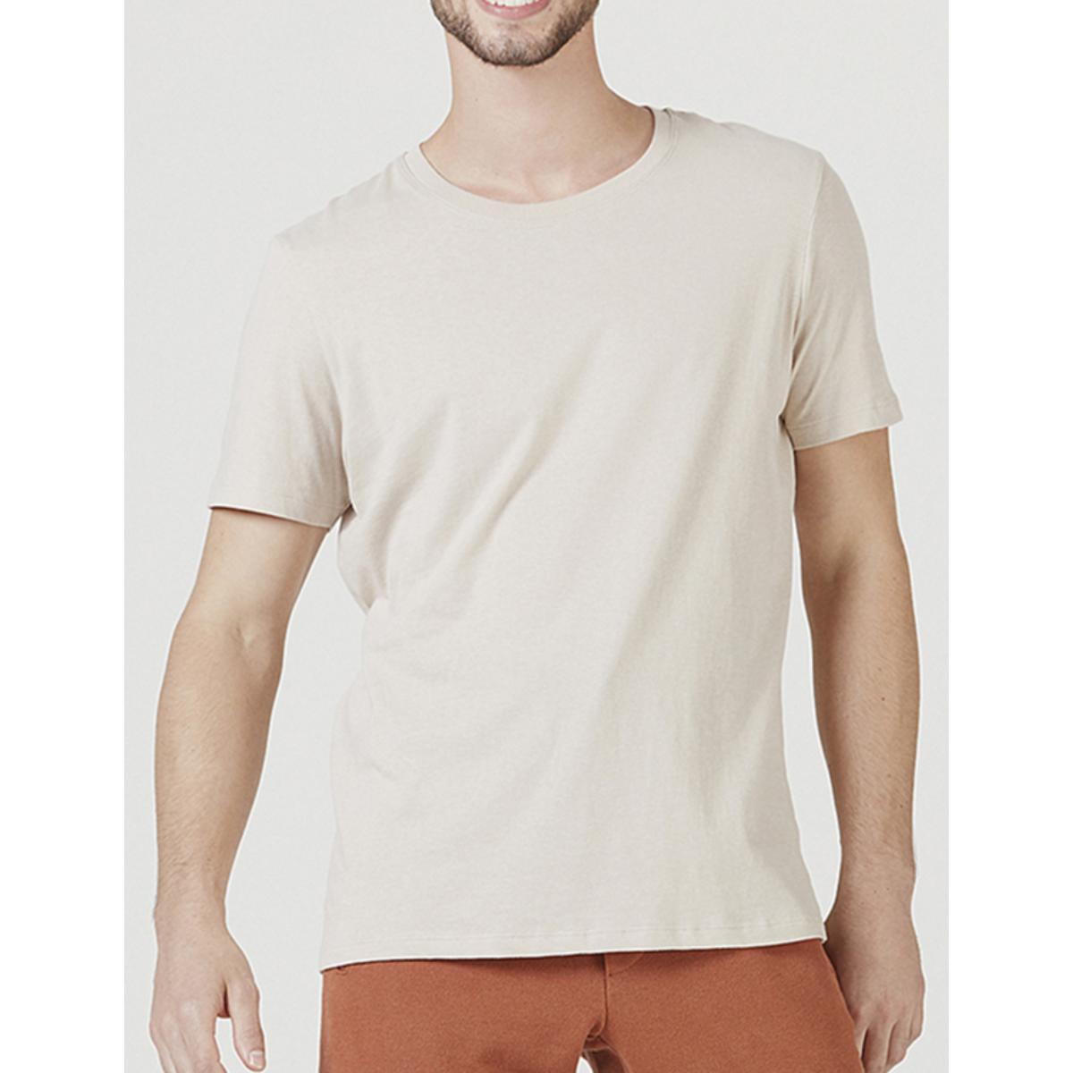 Camiseta Masculina Hering 0201 Hjmen Bege