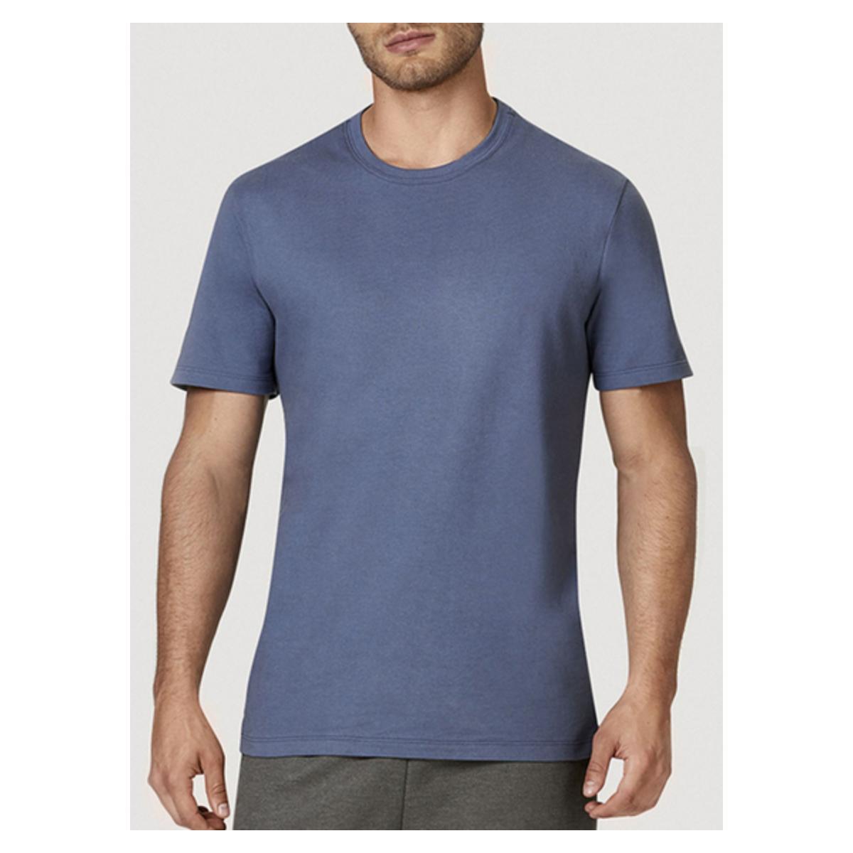 Camiseta Masculina Hering 0227 Av2en Azul