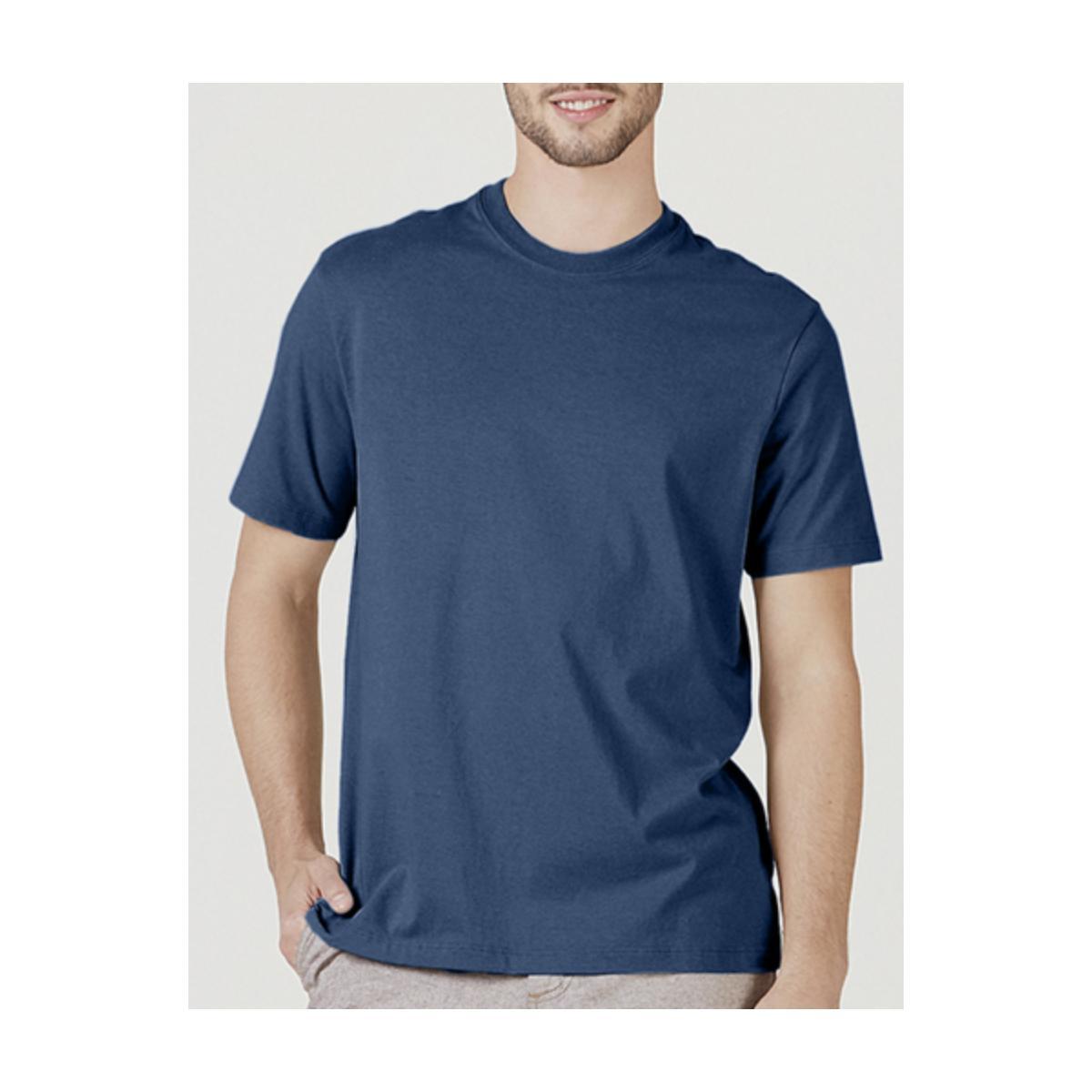 Camiseta Masculina Hering 0227 Az2en Azul