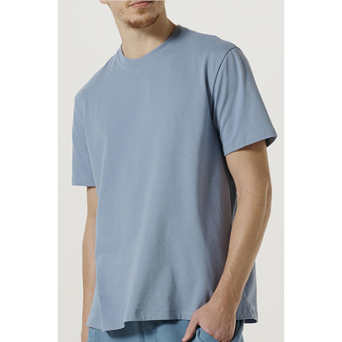 Camiseta Masculina Hering 0227 Az3en Azul Claro