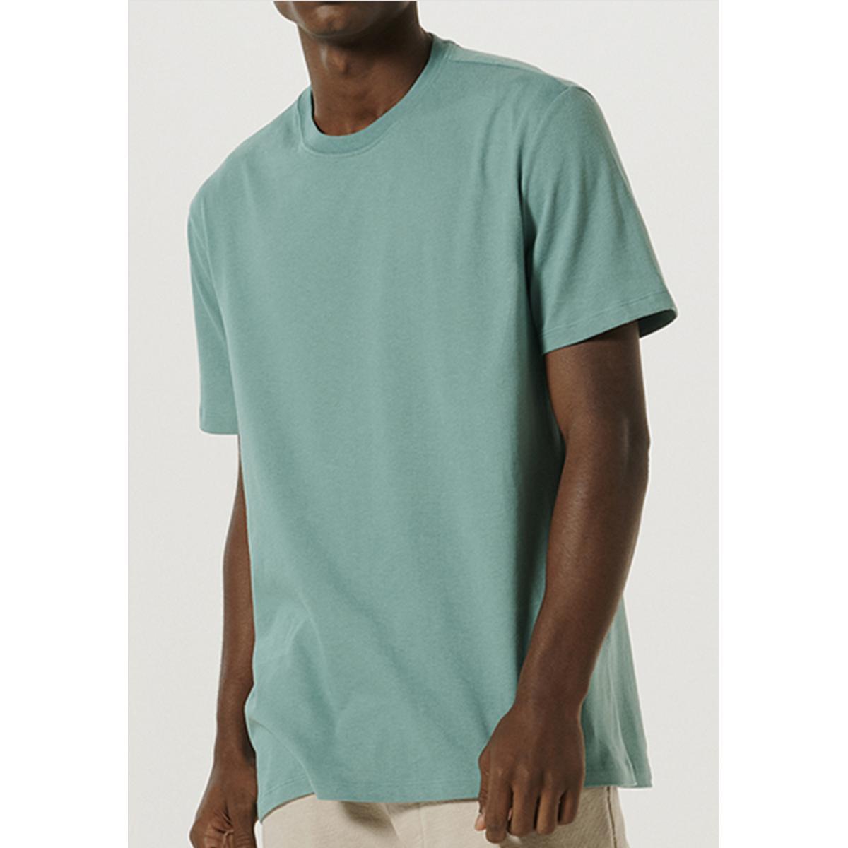 Camiseta Masculina Hering 0227 Wg9en Verde