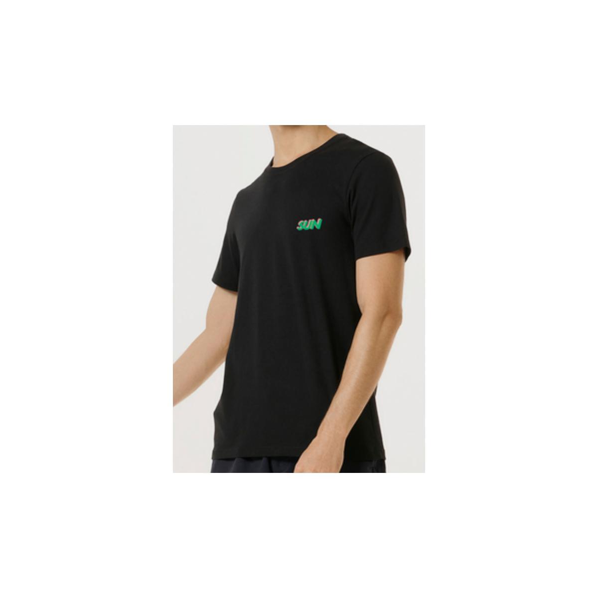 Camiseta Masculina Hering 4fdp N10en Preto