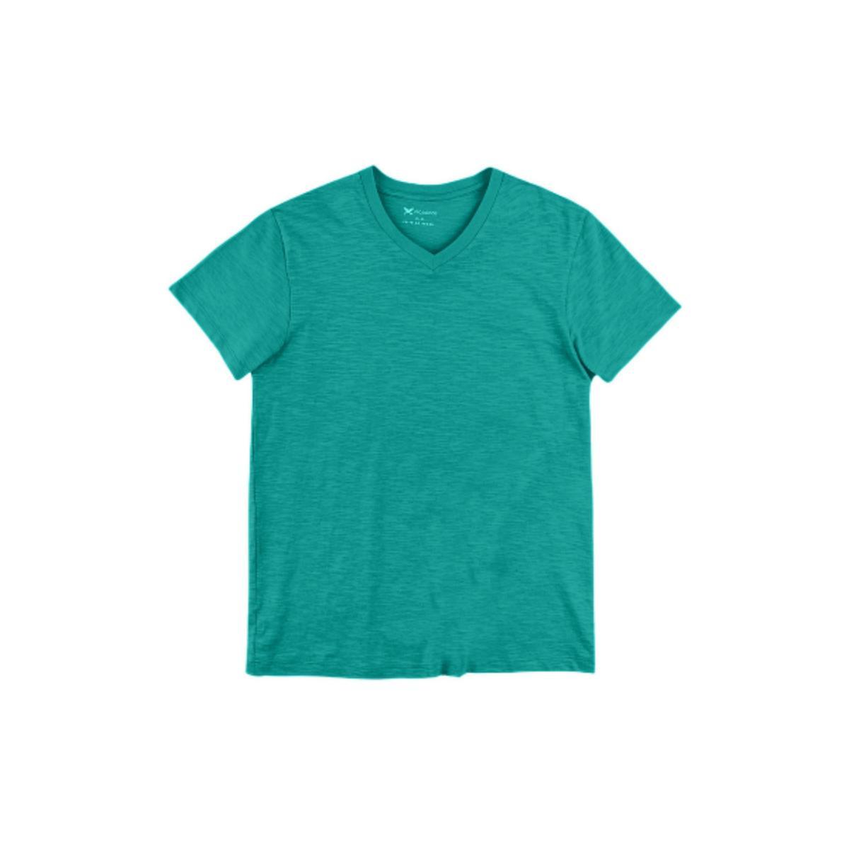 Camiseta Masculina Hering N2k5 W9ben Verde