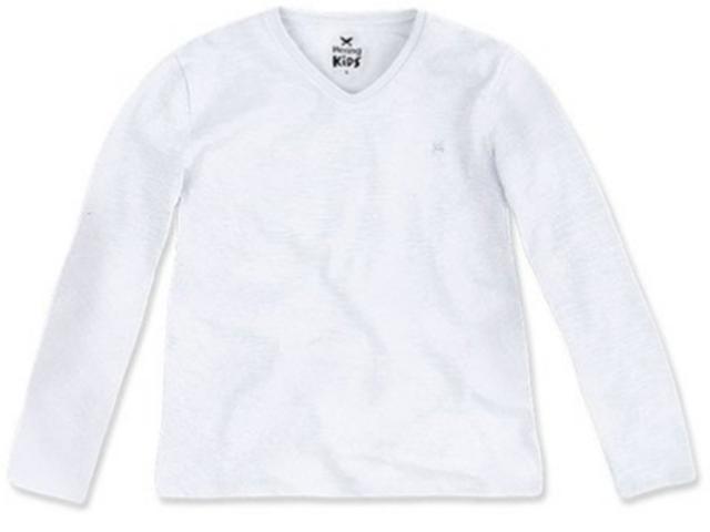 Camiseta Masc Infantil Hering Kids 5c8w N0a00 Branco