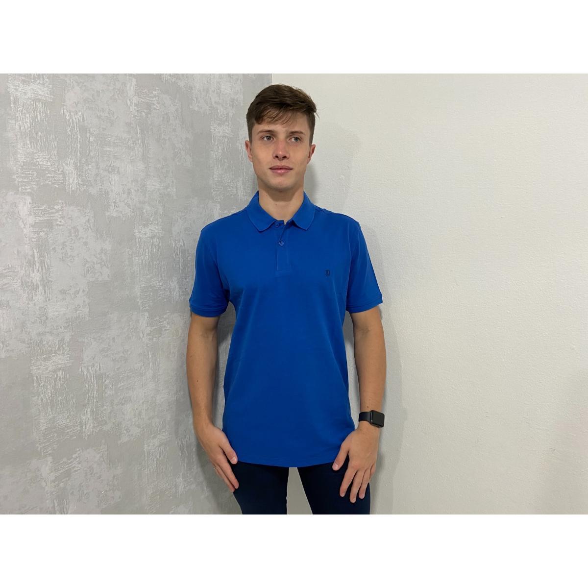 Camiseta Masculina Individual 08.75.0704 Azul Médio