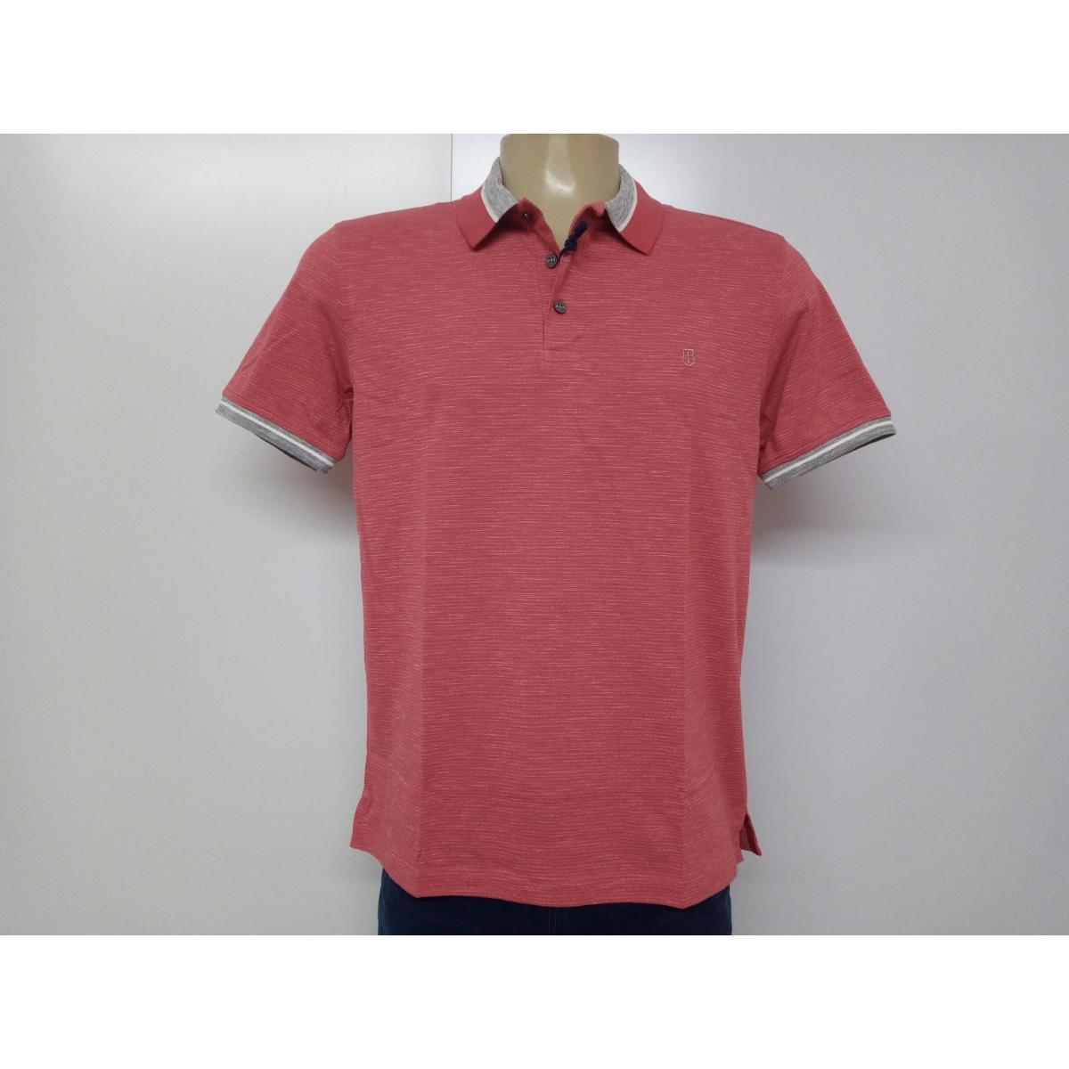 Camiseta Masculina Individual 08.75.0910.13 Vermelho