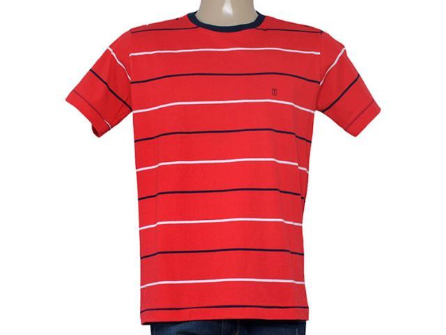 Camiseta Masculina Individual 304.22222.143 Vermelho