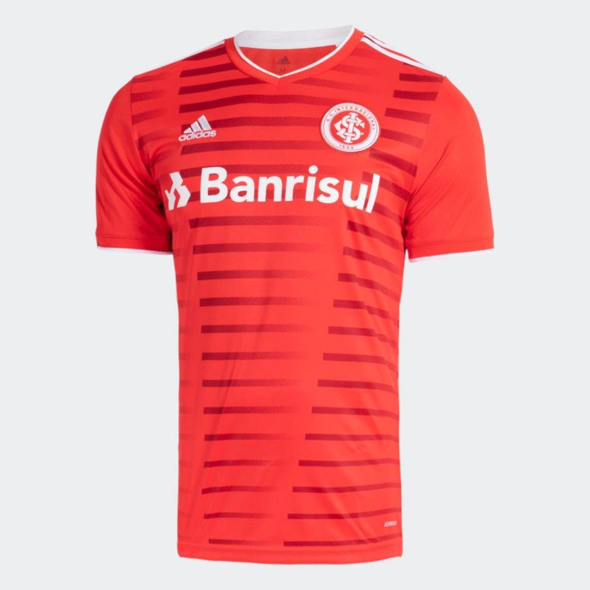 Camiseta Masculina Gl0122 Inter i Vermelho