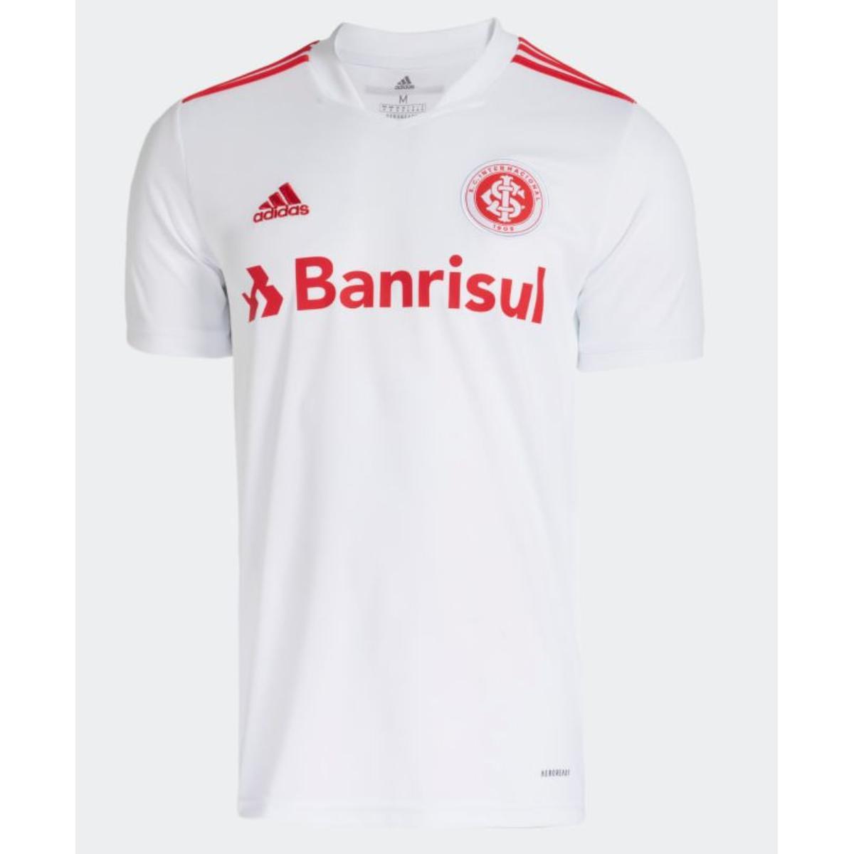 Camiseta Masculina Gl0127 Inter Branco/vermelho