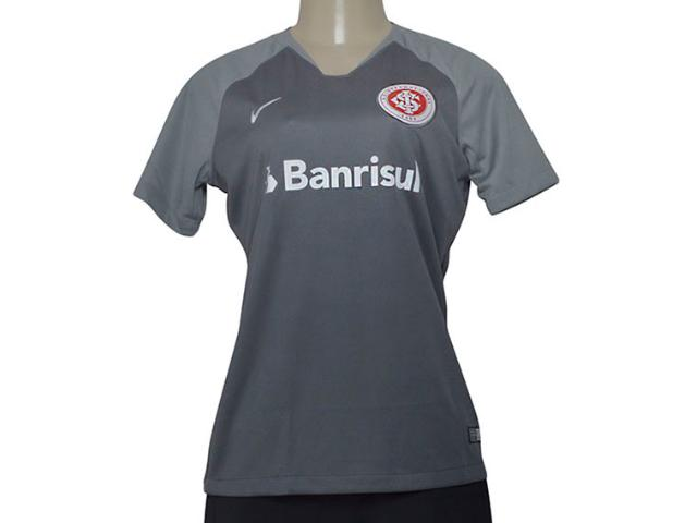 Camiseta Feminina 894452-022  sc International Stadium Cinza