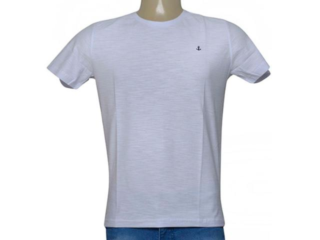 Camiseta Masculina King & Joe Ca09109 Branco