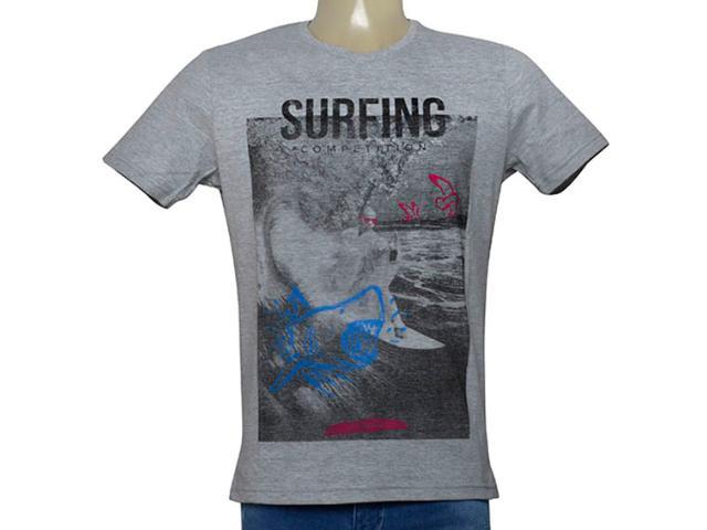 Camiseta Masculina King & Joe Ca09004 Mescla