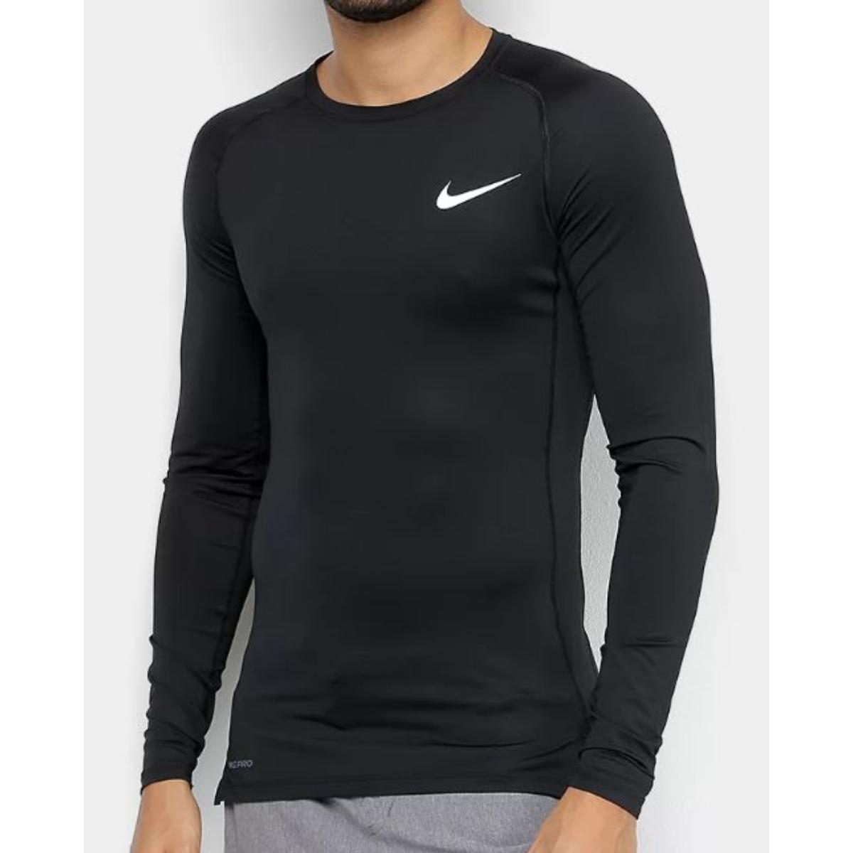 Camiseta Masculina Nike Bv5588-010 Pro Preto