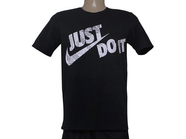 Camiseta Masculina Nike 684079-010 Tee-loi Jdi Swoosh  Preto