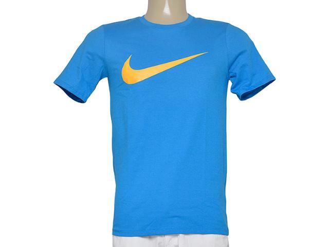 Camiseta Masculina Nike 696699-435 Chest Swoosh  Azul
