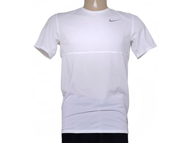 Camiseta Masculina Nike 644396-102 Racer ss  Branco