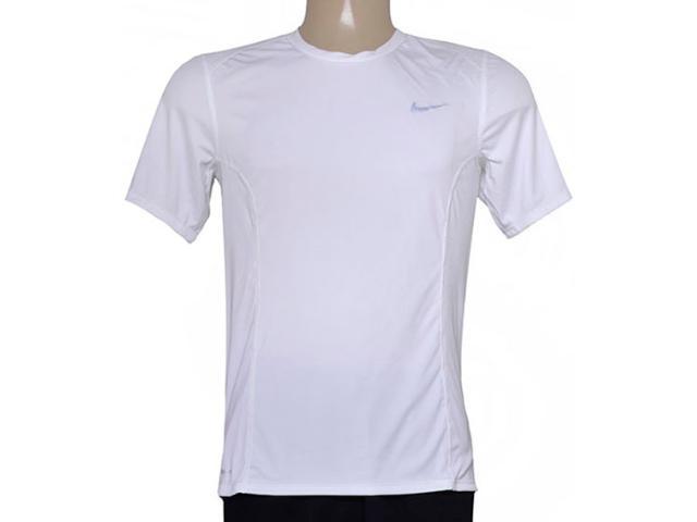 Camiseta Masculina Nike 683527-100 df  Miler  Branco