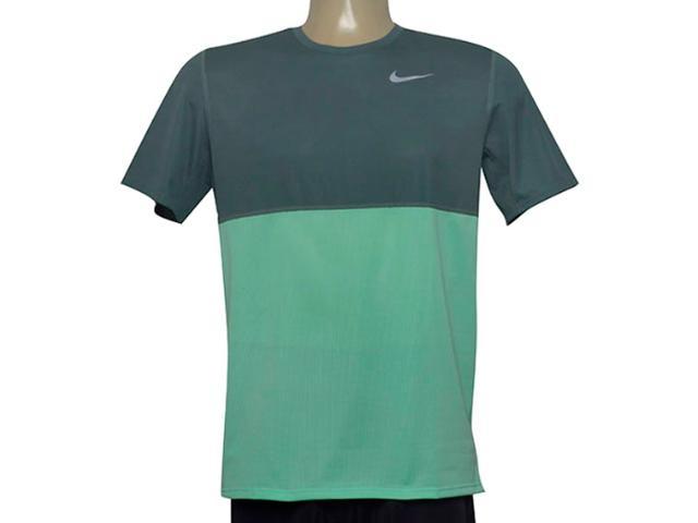 Camiseta Masculina Nike 644396-387 Racer ss Verde
