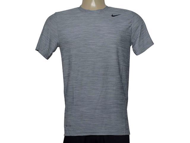 Camiseta Masculina Nike 832864-043 m nk Brthe ss Top  Cinza