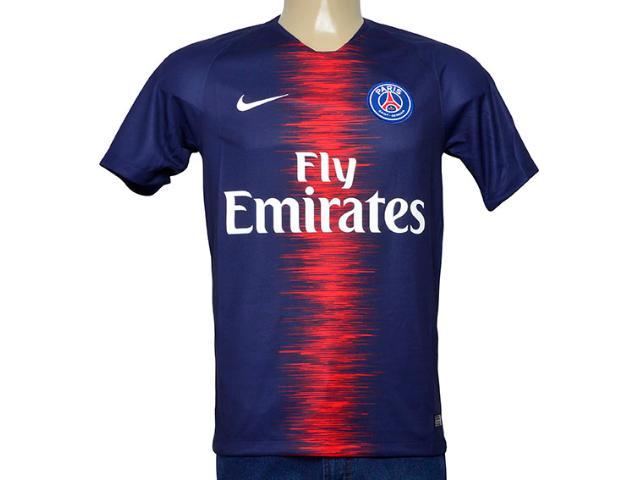 Camiseta Masculina Nike 894432-411 Paris Saint Germani   Stad Jsy Marinho